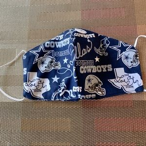 Men NFL  Dallas Cowboys Face Mask